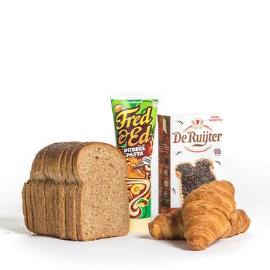 Afbakbroodjes, broodbeleg, toast, serials