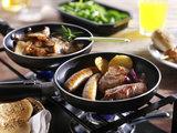 Mixed Gourmet menu (Halal) met pannetjes_