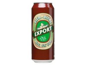 Export bier blik 50cl