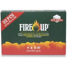 Fire Up Aanmaakblokjes wit