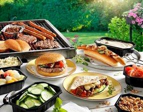 Barbecue Burgers & Dogs menu