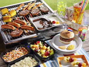 Barbecue kindermenu