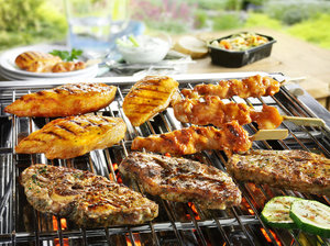 Mediterraans Barbecue menu (halal)