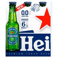 Heineken 0.0% fles 6x33cl