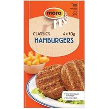 Mora Hamburger 4 stuks