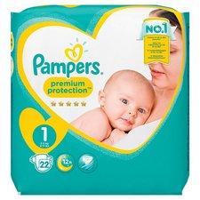 Pampers premium protection luiers newborn 1