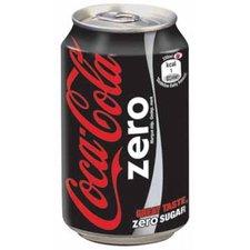 Coca Cola zero blikje 330ml