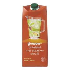 Gwoon Tintelfruit Appel/Perzik 1,5ltr