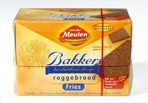 Van Der Meulen Fries Roggebrood 250gr