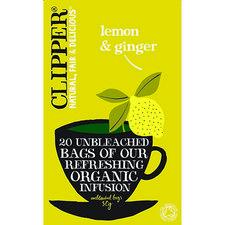 Clipper Original Lemon Ginger 20st 45gr