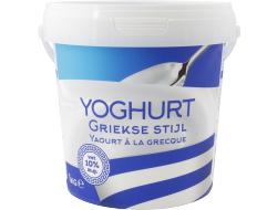 Koning Griekse Stijl Yoghurt 0% vet 1kg