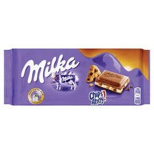 Milka Tablet Chips Ahoy 100gr