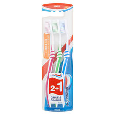 Aquafresh TB Cleanflex Hard 2+1