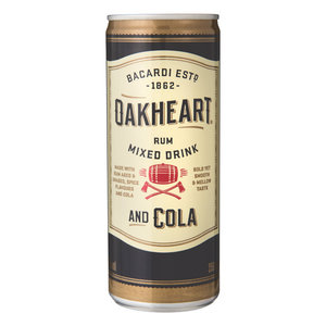 Bacardi Oakheart Cola 250ml